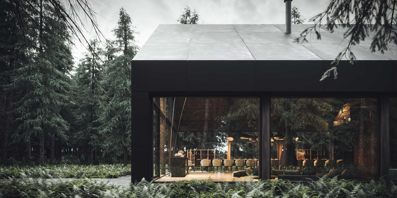 cabana in padure