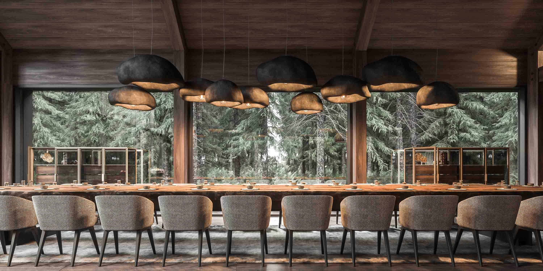 masa dining interior minimalist