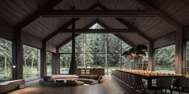 design interior cabana minimalista