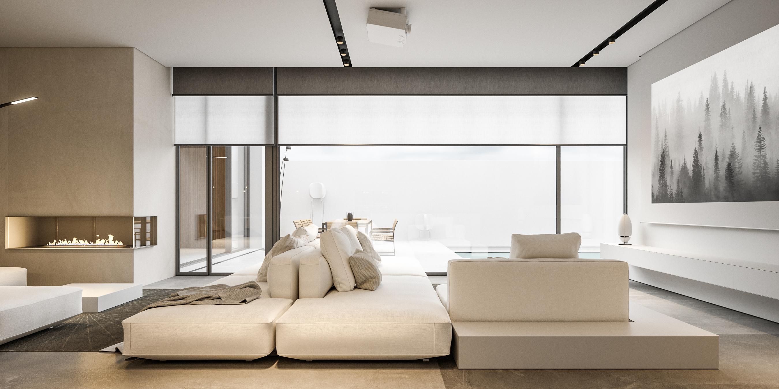 Living Room - A House