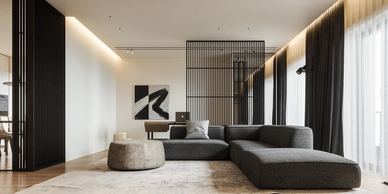 Living Room - Ap C81 Design Interior Atemporal